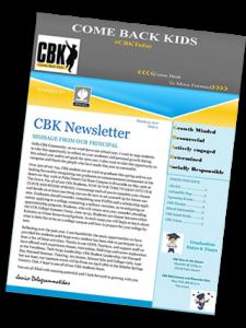 CBK March Newsletter