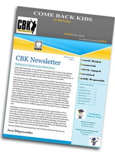 CBK March Newsletter