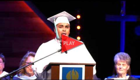 Graduation Speech from Ezequiel Frias Gonzales