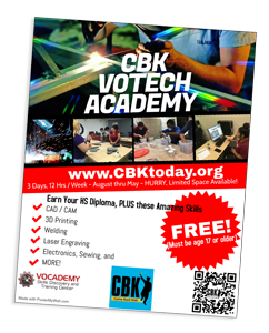 CBK Votech Academy Flyer