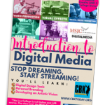 Introduction to Digital Media flyer