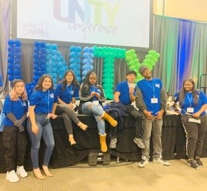 CBK student leadership at the 2019 Unity Conference